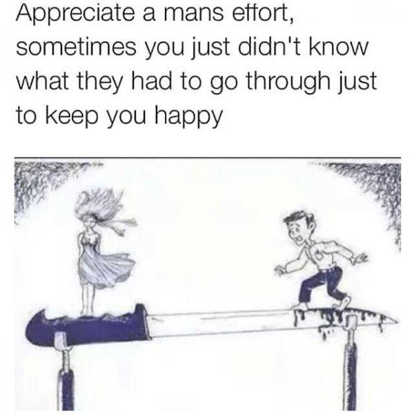 mans-effort